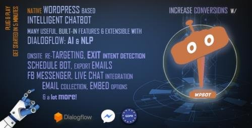 CodeCanyon - ChatBot for WordPress v10.4.5 - 23512075