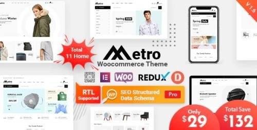 ThemeForest - Metro v1.6.0 - Minimal WooCommerce WordPress Theme - 24204259