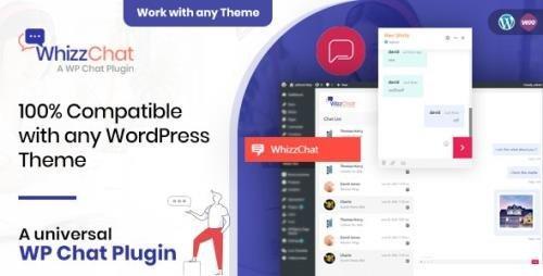 CodeCanyon - WhizzChat v1.0.5 - A Universal WordPress Chat Plugin - 27539562