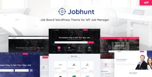 ThemeForest - Jobhunt v1.2.6 - Job Board WordPress theme for WP Job Manager - 22563674