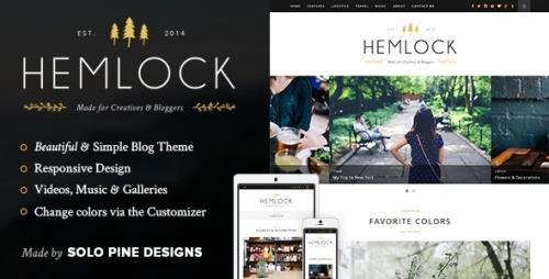 ThemeForest - Hemlock v1.8.3 - A Responsive WordPress Blog Theme - 8253073