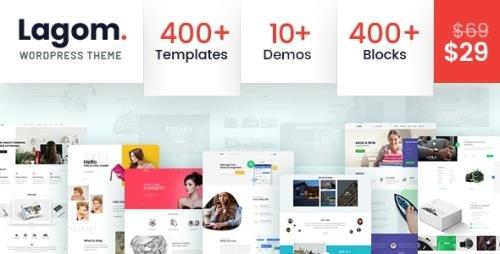 ThemeForest - Lagom v1.2 - Multi Concept MultiPurpose WordPress Theme - 21547064