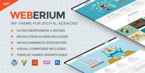 ThemeForest - Weberium v1.12 - Responsive WordPress Theme Tailored for Digital Agencies - 21758998