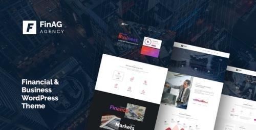 ThemeForest - Finag v1.4.3 - Creative & Finance Agency WordPress Theme - 21424295