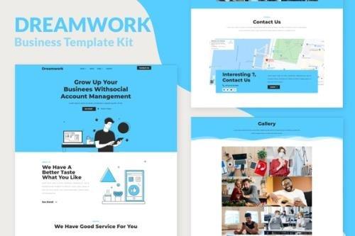 ThemeForest - Dreamwork v1.0.0 - Business Management Elementor Template Kit - 29840524