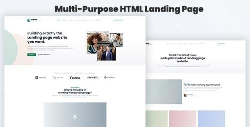 ThemeForest - Legaland v1.0 - Multi-Purpose HTML Landing Page Template for Business and Marketing - 29912606