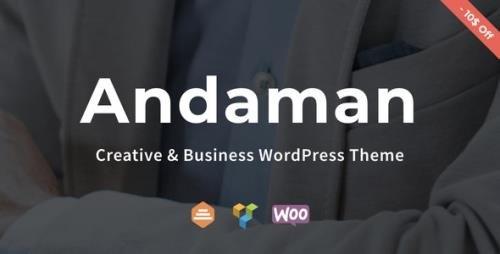 ThemeForest - Andaman v1.1.3 - Creative & Business WordPress Theme - 22448925