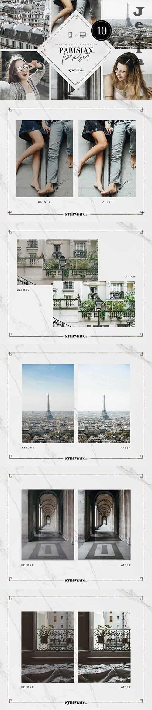 CreativeMarket - Parisian Lightroom Presets Bundle 5251294