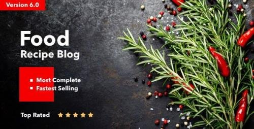 ThemeForest - Neptune v6.3.4 - Theme for Food Recipe Bloggers & Chefs - 12915290 - NULLED