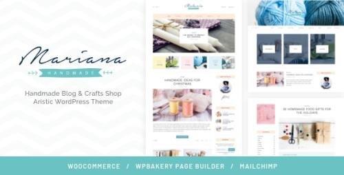 ThemeForest - Melania v1.5.3 - Handmade Blog & Crafts Shop Aristic WordPress Theme - 12515663