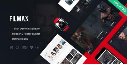 ThemeForest - Filmax v1.1.1 - Cinema & Movie News Magazine WordPress Theme - 21430771
