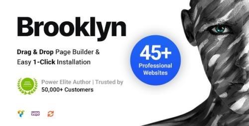 ThemeForest - Brooklyn v4.9.6.2 - Creative Multi-Purpose Responsive WordPress Theme - 6221179 - NULLED