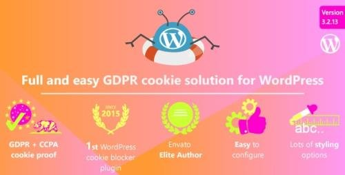 CodeCanyon - Complete GDPR / AVG / CCPA Cookie Compliance WordPress plugin - WeePie Cookie Allow v3.2.13 - 10342528 -
