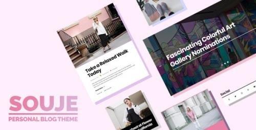 ThemeForest - Souje v5.0 - Personal WordPress Blog Theme - 21194449