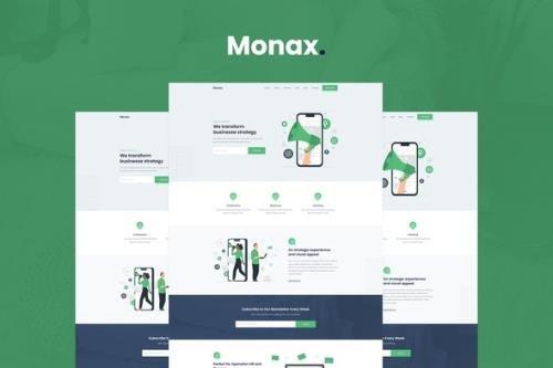 ThemeForest - Monax v1.0.0 - Saas & Startup Elementor Template Kit - 29922766
