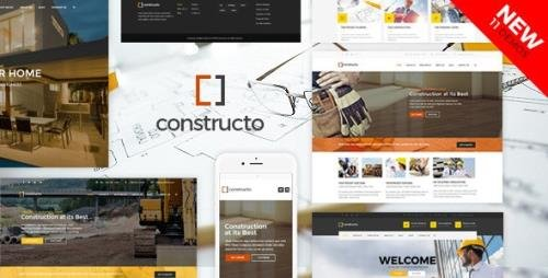 ThemeForest - Constructo v4.1.7 - Construction WordPress Theme - 9835983