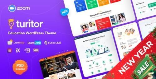 ThemeForest - Turitor v1.3.0 - LMS & Education WordPress Theme - 25282972