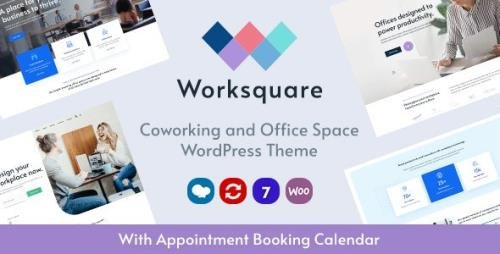 ThemeForest - Worksquare v1.3 - Coworking and Office Space WordPress Theme - 28044669