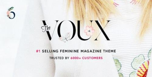 ThemeForest - The Voux v6.6.7.2 - A Comprehensive Magazine WordPress Theme - 11400130 - NULLED