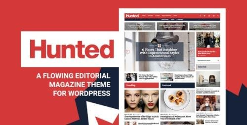 ThemeForest - Hunted v8.0 - A Flowing Editorial Magazine Theme - 16253424