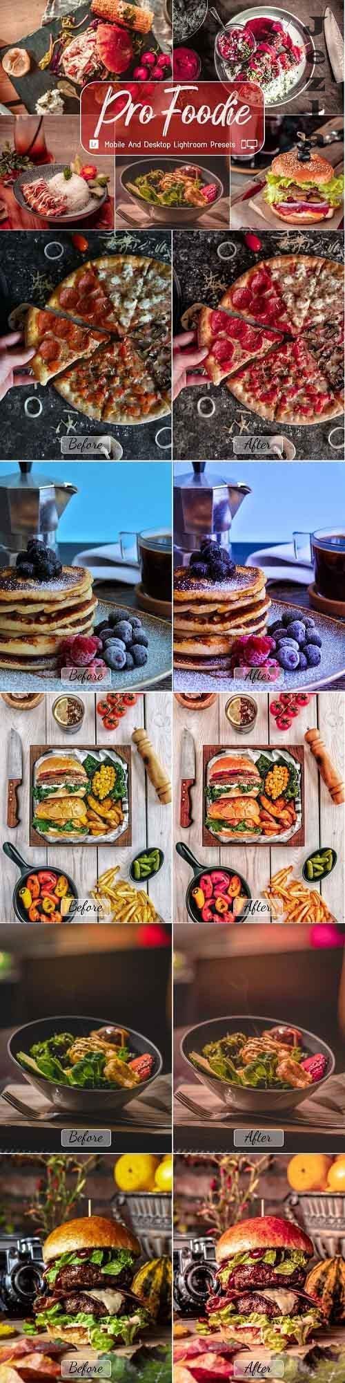 8 Pro Foodie Mobile And Desktop Lightroom Presets - 1135921