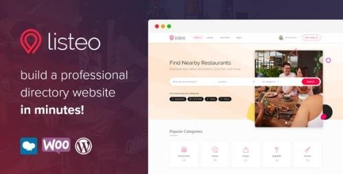 ThemeForest - Listeo v1.5.02 - Directory & Listings With Booking - WordPress Theme - 23239259