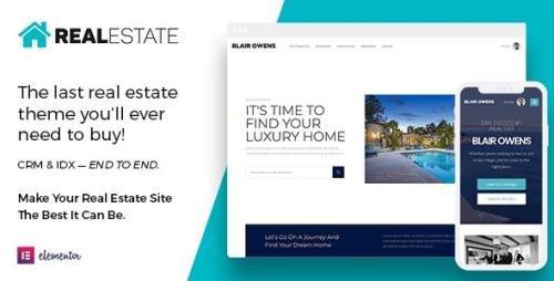 ThemeForest - Real Estate 7 v3.0.5 - WordPress Theme - 12473778