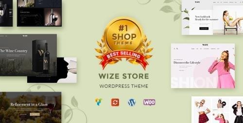 ThemeForest - WizeStore v1.14.3 - Multipurpose WooCommerce Shop - 19999516 -