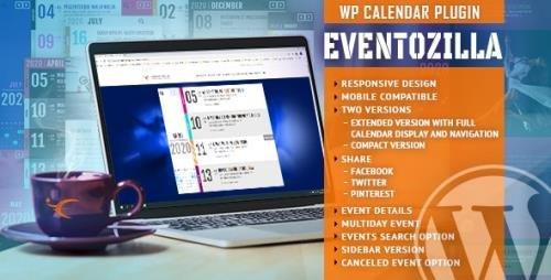 CodeCanyon - EventoZilla - Event Calendar WordPress Plugin v1.3.1 - 26416421