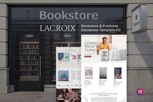 ThemeForest - LaCroix v1.0.0 - Author & Publisher Elementor Template Kit - 29954098