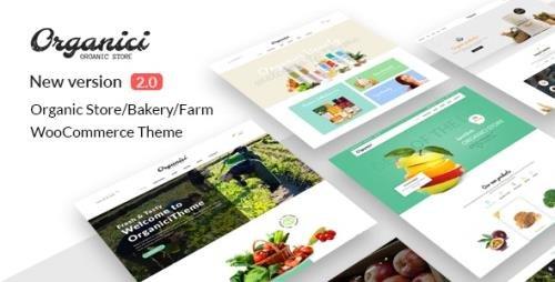 ThemeForest - Organici v2.1.0 - Organic Store & Bakery WooCommerce Theme - 14568176