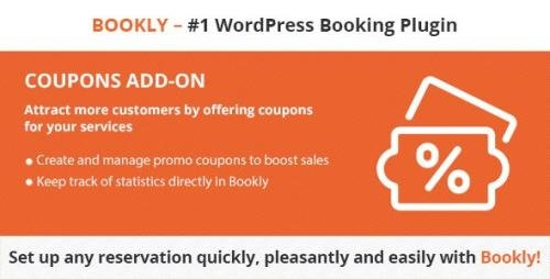 CodeCanyon - Bookly Coupons (Add-on) v2.7 - 21113860