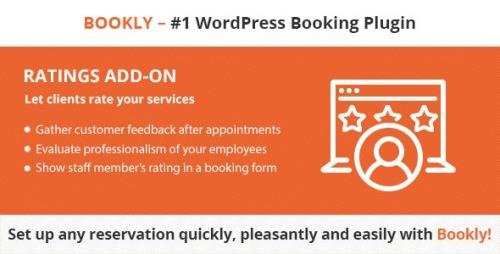 CodeCanyon - Bookly Ratings (Add-on) v2.0 - 21574566