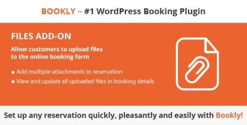 CodeCanyon - Bookly Files (Add-on) v2.2 - 21344354