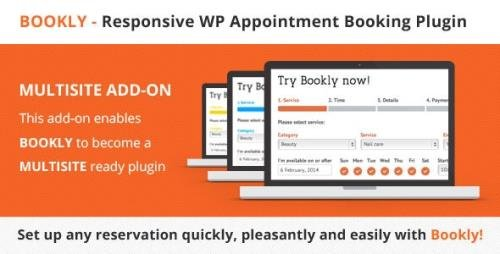 CodeCanyon - Bookly Multisite (Add-on) v2.6 - 13903524
