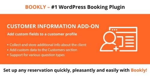 CodeCanyon - Bookly Customer Information (Add-on) v1.9 - 21574466