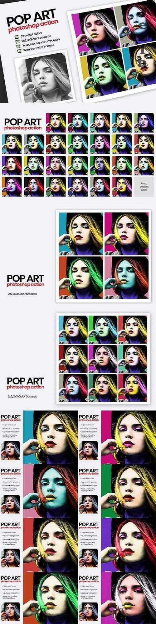 Pop Art - PS Action - 3316906
