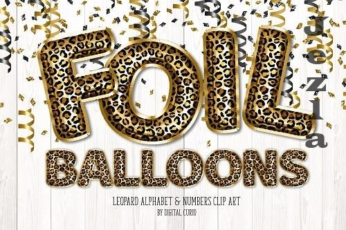 Leopard Foil Balloon Alphabet - 5760697