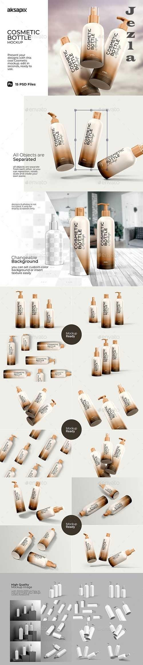 GraphicRiver - Cosmetic Bottle - Mockup 29898641