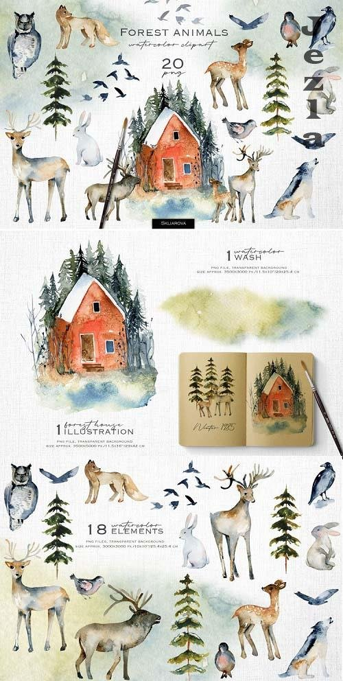 Forest animals - 1139516