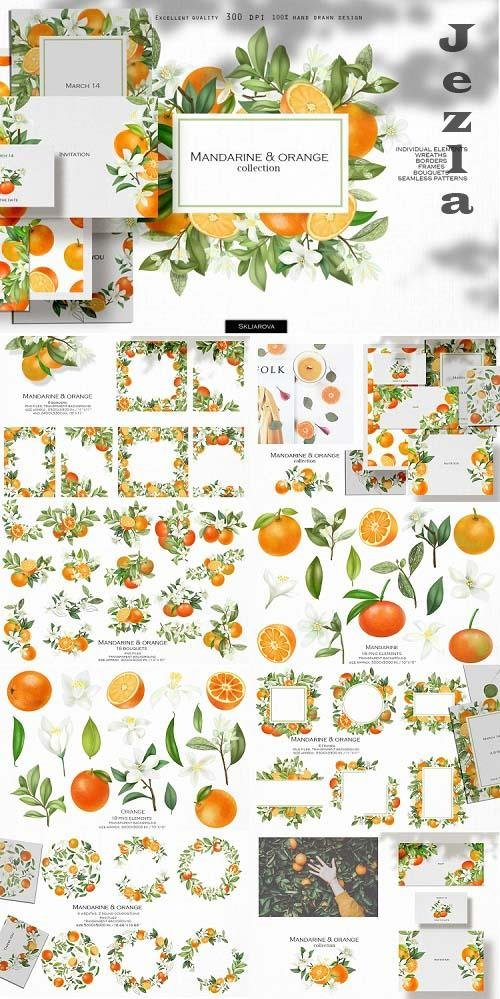 Mandarine & orange collection - 770317