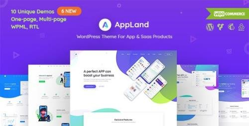 ThemeForest - AppLand v2.9.4 - WordPress Theme For App & Saas Products - 22475002