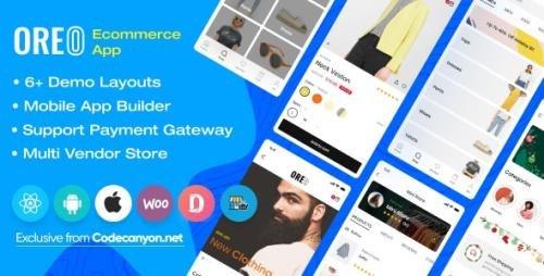 CodeCanyon - Oreo Fashion v2.4.0 - Full React Native App for Woocommerce - 24951657 - NULLED