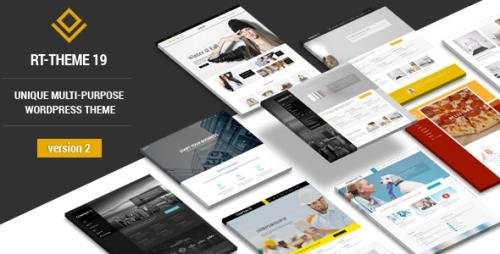 ThemeForest - RT-Theme 19 v2.9.7 - Multi-Purpose WordPress Theme - 10730591