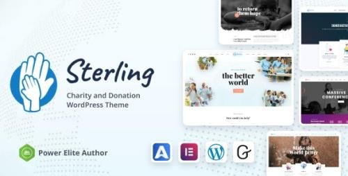ThemeForest - Sterling v3.0.0 - Non-Profit Charity WordPress - 2320578