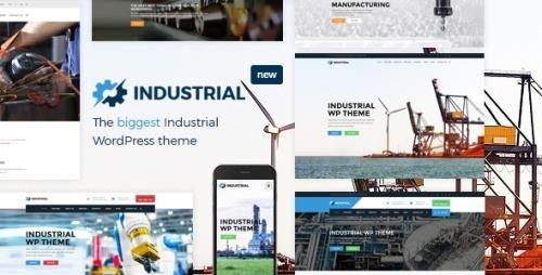 ThemeForest - Industrial v1.6.0 - Factory Business WordPress Theme - 15776179