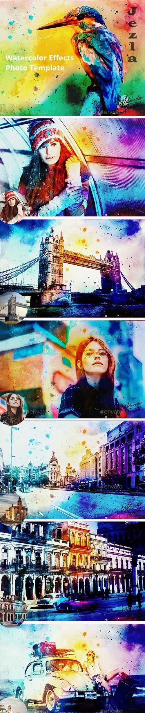 GraphicRiver - Watercolor Photo Template 29665724