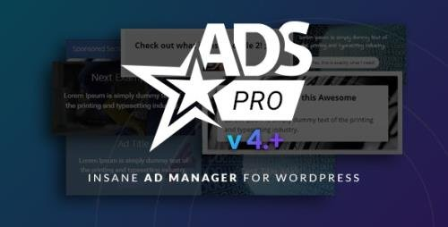 CodeCanyon - Ads Pro Plugin v4.3.96 - Multi-Purpose WordPress Advertising Manager - 10275010 -