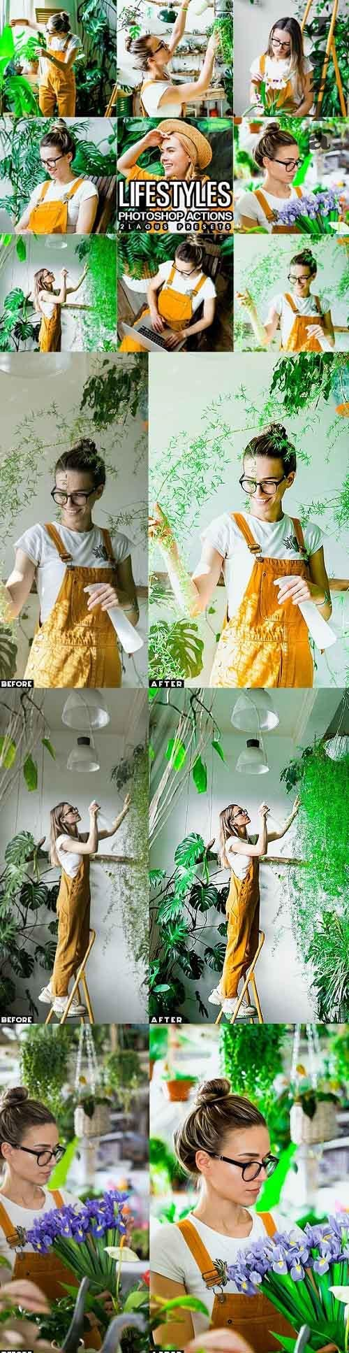 Clean Life Styles Photoshop Actions - 29858474