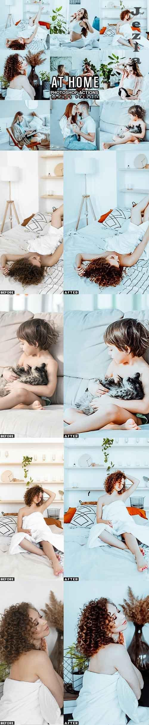 Light & Airy Interior Photoshop Actions - 29848539